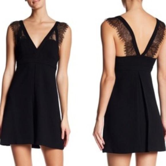 BCBGeneration Dresses & Skirts - Black BCBGeneration Lace Mini Cocktail Dress
